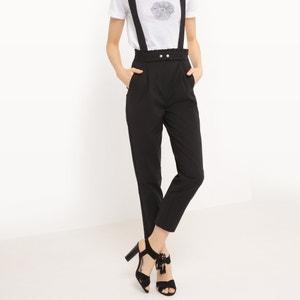 Proste spodnie z szelkami MADEMOISELLE R
