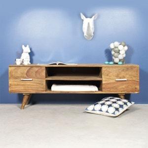 meuble tv scandinave 2 tiroirs rasevenchi made in meubles - Meuble Tv Made In Design