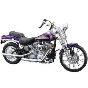 Reproduction Harley Davidson 2001 FXSTS Springer Softail 1:18 MAJORETTE