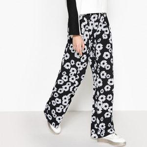 Wijde broek met hoge taille MADEMOISELLE R