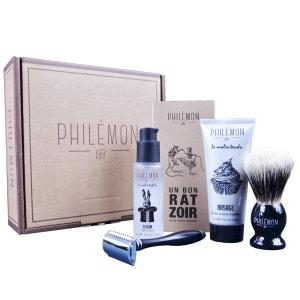 Coffret homme rasage et soin barbier PHILEMON