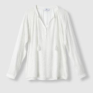Blusa bordada de manga larga LE TEMPS DES CERISES