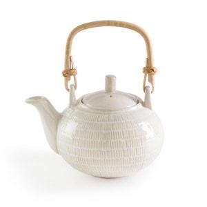 Lokji Teapot with Rattan Handle La Redoute Interieurs