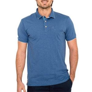 T-shirt collo a polo, camicia tinta unita, maniche corte OXBOW