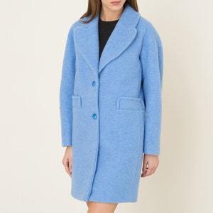 Manteau drap de laine CARVEN