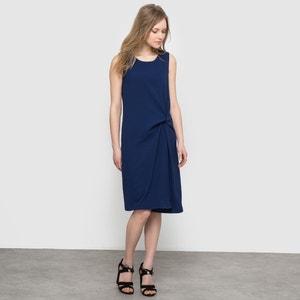 Vestido drapeado sin mangas atelier R
