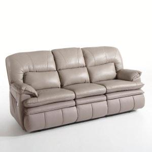 Canapé relaxation, cuir, Matei La Redoute Interieurs
