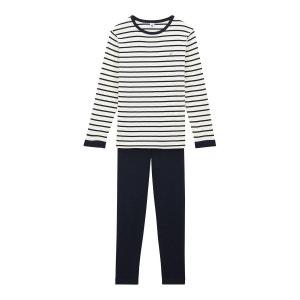 Pyjama garçon à rayures PETIT BATEAU