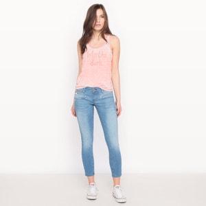 Jeans ALEXA cropped taglio super slim vita bassa FREEMAN T. PORTER
