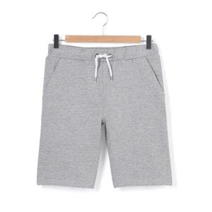 Fleece Bermuda Shorts, 10-16 Years La Redoute Collections