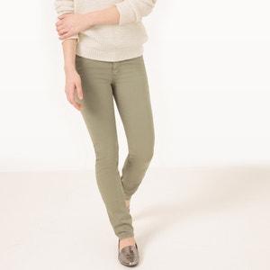 Pantalon NOUFLORE, coupe slim, taille haute CIMARRON