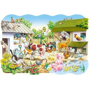 Puzzle 20 pièces maxi : La ferme CASTORLAND