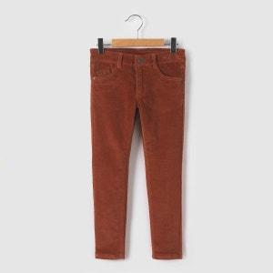 Pantalon slim velours 3-12 ans La Redoute Collections