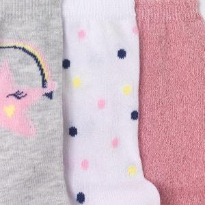 Chaussettes hautes (lot de 3) 3-12 ans abcd'R