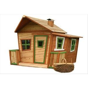 Grande cabane en bois Lisa AXI