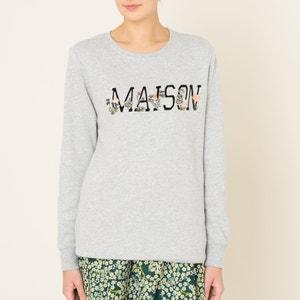 Sweatshirt with Motif MAISON SCOTCH
