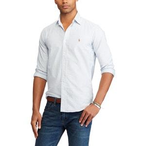 Recht gestreept hemd custom fit