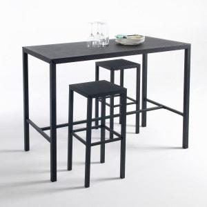 Table haute mange-debout métal perforé, Choe La Redoute Interieurs image