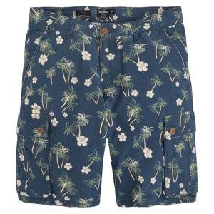 IRIS Floral Print Bermuda Shorts PEPE JEANS