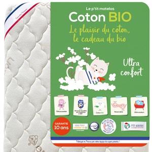 Colchón para bebé de espuma y algodón orgánico