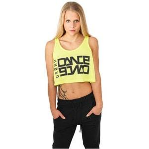 Débardeur ample et court Urban Dance Neon Jaune Danse URBAN DANCE