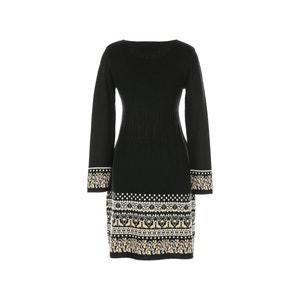 Krótka sukienka z długim rękawem RENE DERHY
