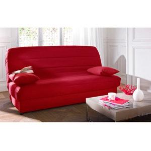 Capa em poli-algodão acolchoada para sofá modelo clic-clac La Redoute Interieurs