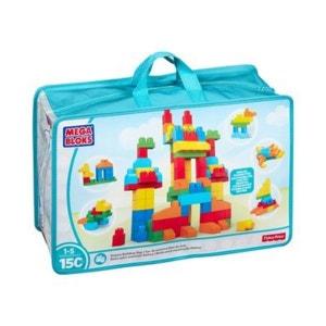 MEGA BLOKS Le sac de briques de construction, deluxe, coloris de base construction MEGA BLOKS