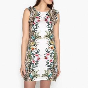 Kleid mit Volants, bedruckt, ärmellos LIU JO