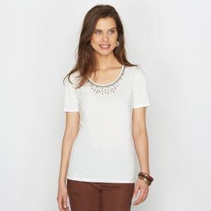 Camiseta de algodón peinado ANNE WEYBURN