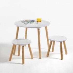 Mesa y 2 taburetes infantiles Jimi La Redoute Interieurs