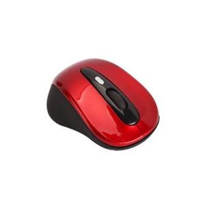 Souris sans fil optique 2.4 GHz 2600 dpi rouge Yonis