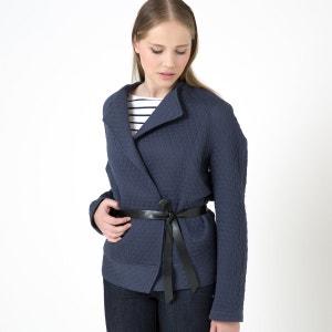 Veste type kimono Incrédule, matelassée avec ceinture imitation cuir BY ZOE