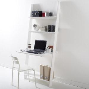 Leiterregal mit Schreibtisch