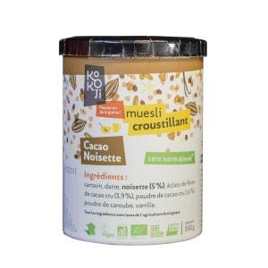 Granola Cru Cacao-Noisette KOKOJI