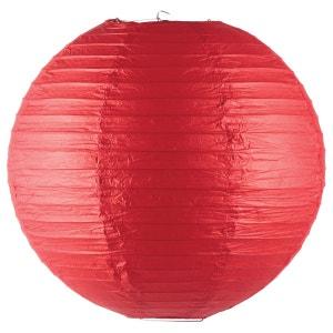 Lanterne boule coloris vif - Diam. 45 cm. - Rouge ATMOSPHERA