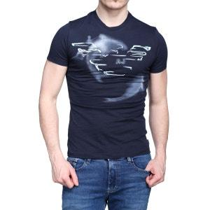 T Shirt Armani Jeans 3y6t67 - 6jacz 15e5 Blu Navy ARMANI JEANS