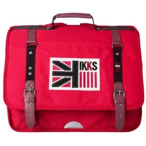Cartable 38cm IKKS Rouge BOY UK   I5BUK-CA38-RG IKKS JUNIOR