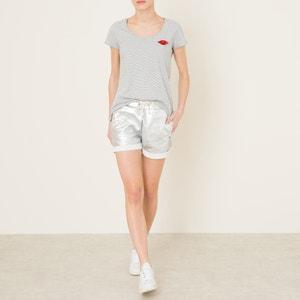 Metallic Hipster Shorts MAISON SCOTCH