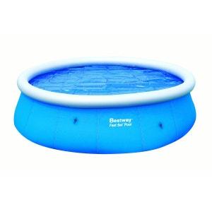 Bâche solaire Piscine Diam 381cm Pour Piscine Fast Set Pool Ronde Diam 457cm 150grs/m2 BESTWAY BESTWAY