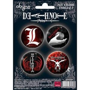 DEATH NOTE - Pack de badges - Symboles #2 ABYSTYLE