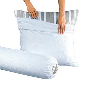 Funda protectora de almohada de felpa 400 g/m², con revestimiento de PVC impermeable REVERIE