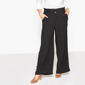 Wijde broek met hoge taille CASTALUNA