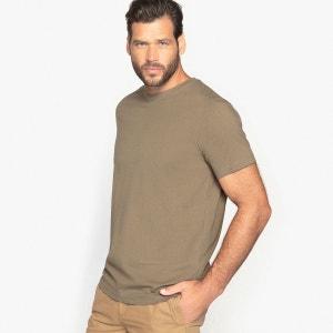Tee shirt col rond uni, manches courtes CASTALUNA FOR MEN