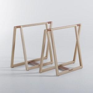 Gary Desk Trestles Designed by E. Gallina AM.PM.