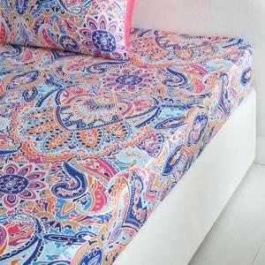 Divali Cotton Satin Fitted Sheet La Redoute Interieurs image