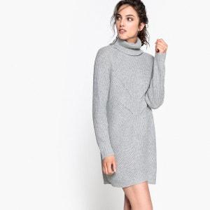 Robe pull col roulé, laine et alpaga La Redoute Collections