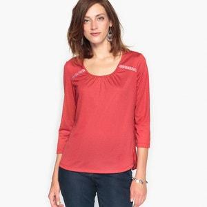 Camiseta fantasía con plisado detrás ANNE WEYBURN