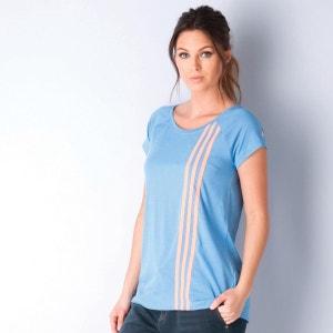T-shirt adidas Sport Essentials Athletic pour femme en bleu adidas