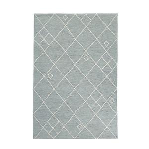 Azureo Velvet-Touch Flat-Weave Rug